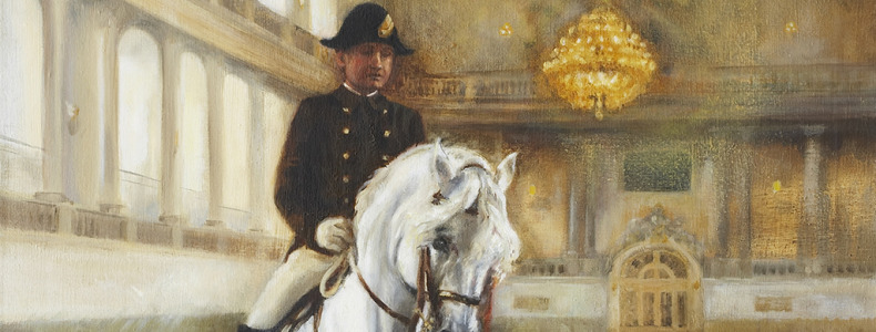 Painting the Lipizzaner's