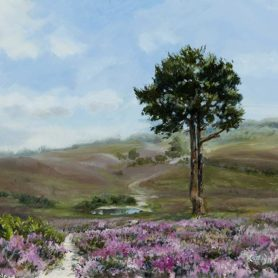 The New Forest - Oil on canvas